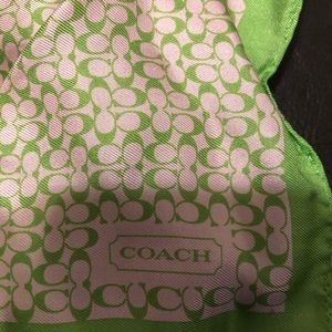 Coach Square Scarf